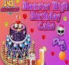 Decorar bolo das Monster High