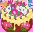 Decorar bolo de flores