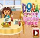 Decorar Mesa de Jantar da Dora