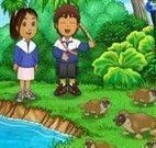 Diego e os animais