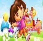 Dirigir carro de doces da Dora