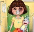 Dora doente no hospital
