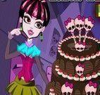Draculaura decorar bolo