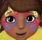 Pintar rosto da Doutora Brinquedos