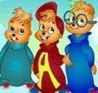 Corrida de carro Alvin e os Esquilos