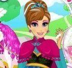 Vestir Anna Frozen grávida