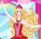 Maquiagem e roupas da Barbie bailarina
