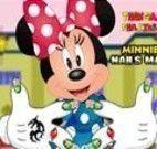 Pintar unhas da Minnie