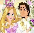 Vestir noiva Rapunzel