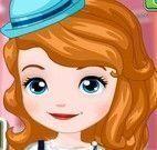 Roupas escolar da Princesa Sofia