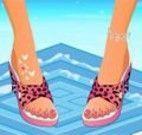 Pintar unhas do pé