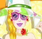 Barbie spa no verão