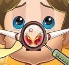 Cuidar do nariz do príncipe