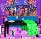 Limpeza da festa Monster High