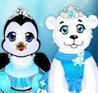 Elsa cuidar dos bichinhos