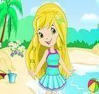 Vestir Moranguinho  na praia