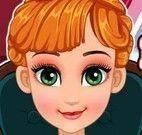 Anna Frozen fazer cirurgia na cabeça