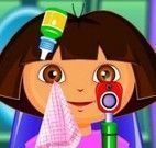 Dora cuidar dos olhos