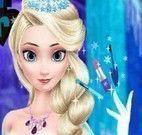 Elsa dia de limpeza facial