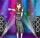 Vestir cantora de rock