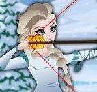 Elsa arco e flecha