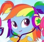 My Little Pony roupas da escola