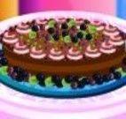 Decorar torta doce