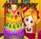 Fazer decoração para bolo natalino