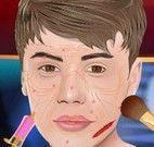 Justin Bieber cuidar da pele