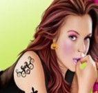 Estrela Lindsay Lohan.