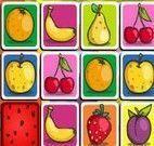Jogo da memória das frutas