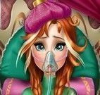 Cuidar da Anna no hospital