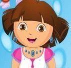 Lavar roupas com Dora