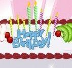 Fazer bolo para aniversário