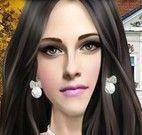 Maquiar e vestir Kristen Stewart
