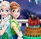 Bolo das Monster High e Frozen halloween