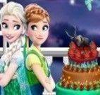 Bolo das Monster High e Frozen halloween