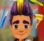 Subway Surfer no cabeleireiro