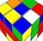 Cubo mágico colorido