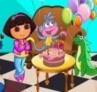 Decorar festa de aniversário da Dora