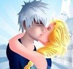 Jack e Elsa beijos