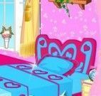 Barbie decorar quarto novo