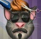 Gato Tom no cabeleireiro