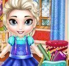 Arrumar mochila da Elsa bebê