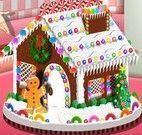 Fazer casinha de doces com Sara