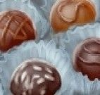 Fazer doces de chocolate