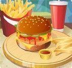 Fazer e decorar hambúrguer