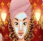 Fazer maquiagem na princesa