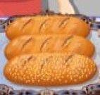 Fazer pão na padaria