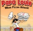 Fazer pizza louie na pizzaria
